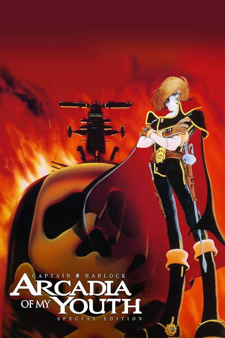 Space Pirate Captain Harlock: Arcadia of My Youth Poster