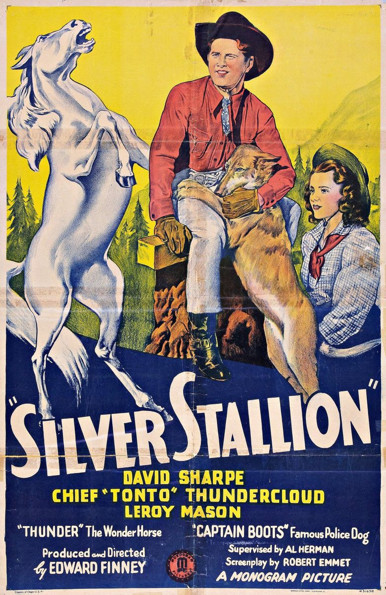 Silver Stallion Poster