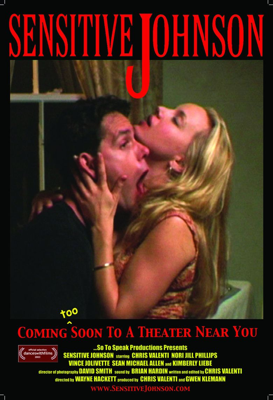 Sensitive Johnson Poster