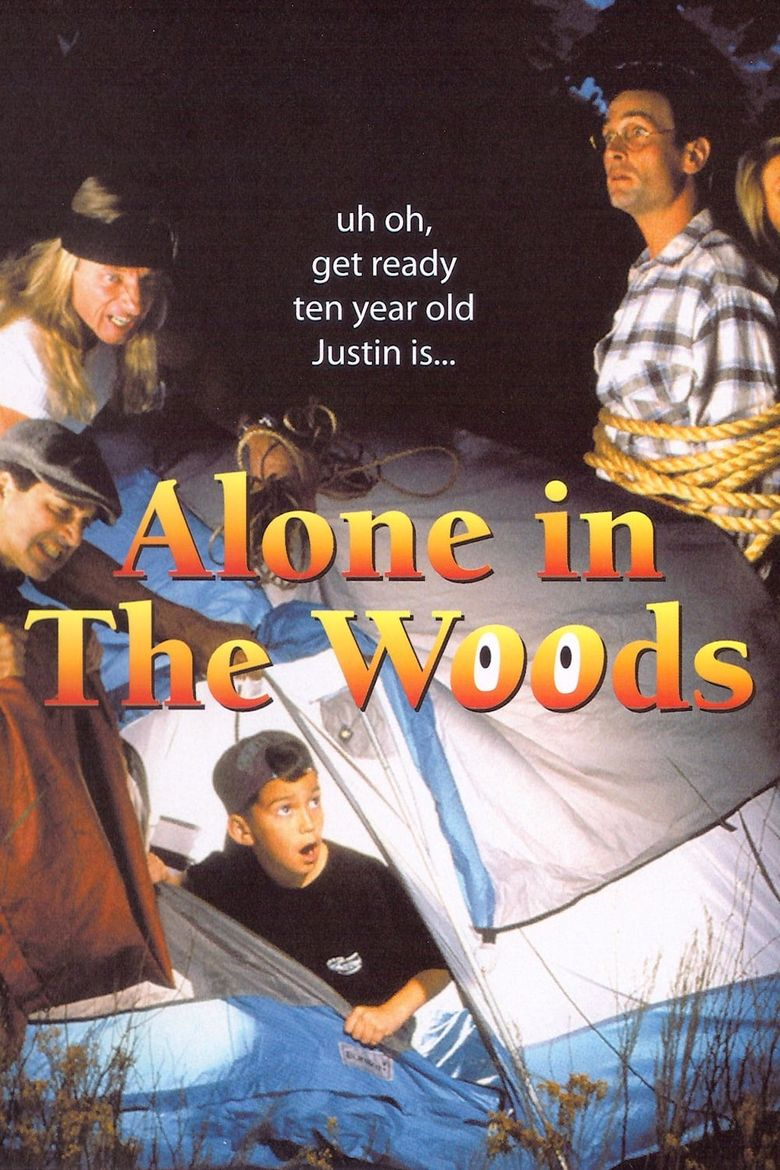Alone in the Woods Poster