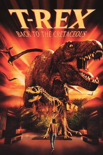 T-Rex: Back to the Cretaceous Poster
