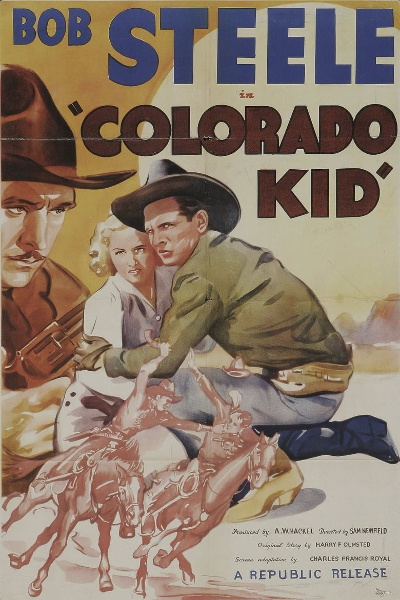 Colorado Kid Poster