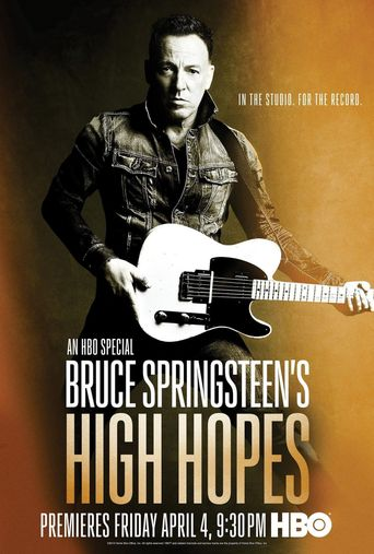 Bruce Springsteen's High Hopes Poster