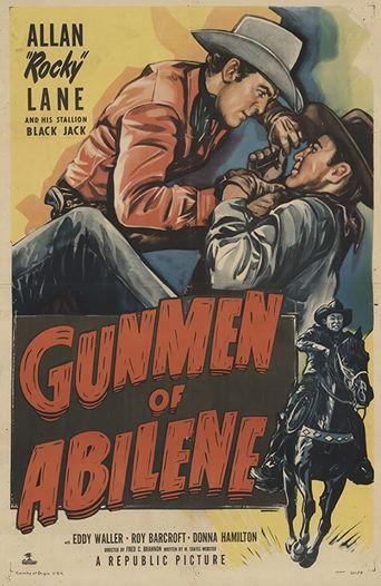 Gunmen of Abilene Poster