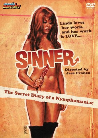 Sinner: The Secret Diary of a Nymphomaniac Poster