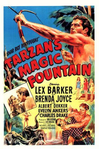 Tarzan's Magic Fountain Poster