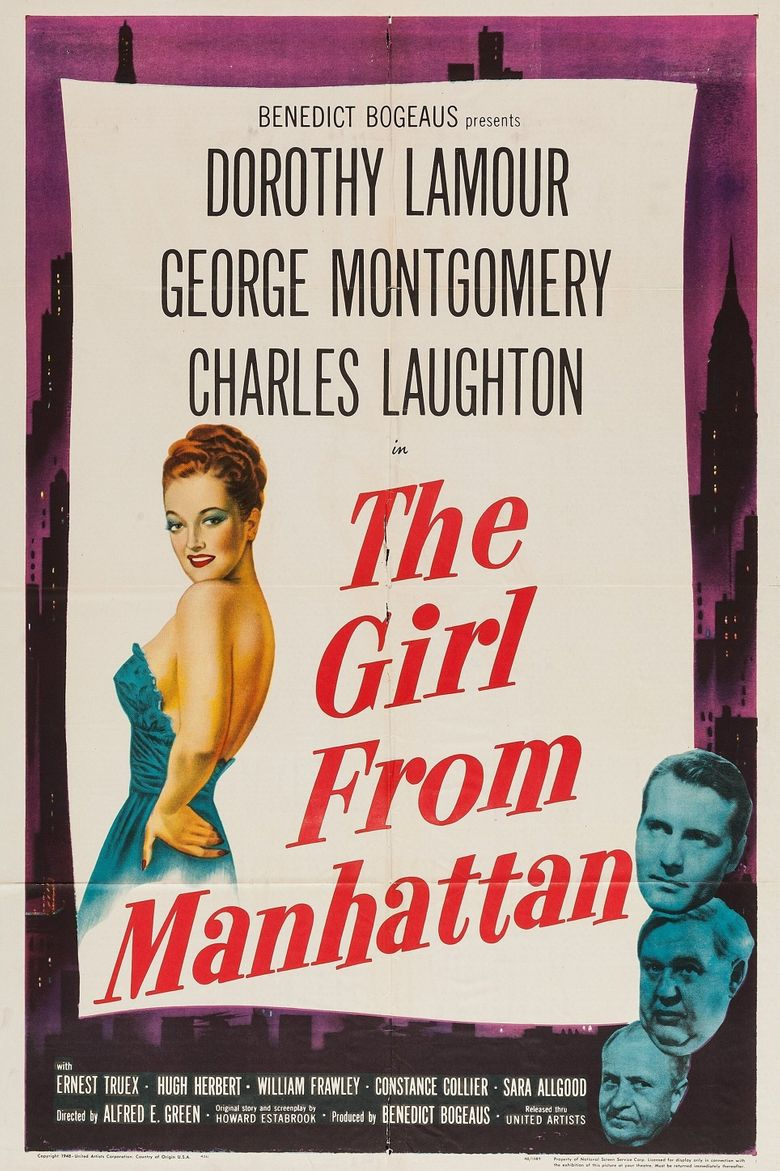 The Girl from Manhattan Poster