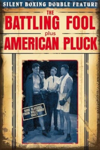 American Pluck Poster