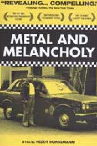 Metal and Melancholy Poster
