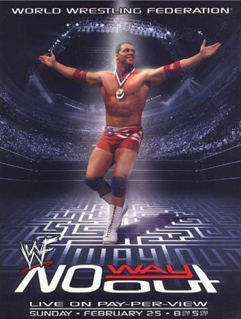 WWE No Way Out 2001 Poster