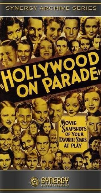 Hollywood on Parade Poster