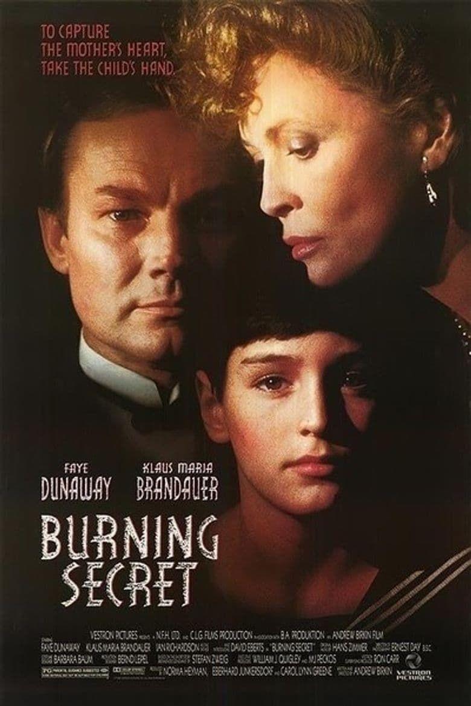 Burning Secret Poster