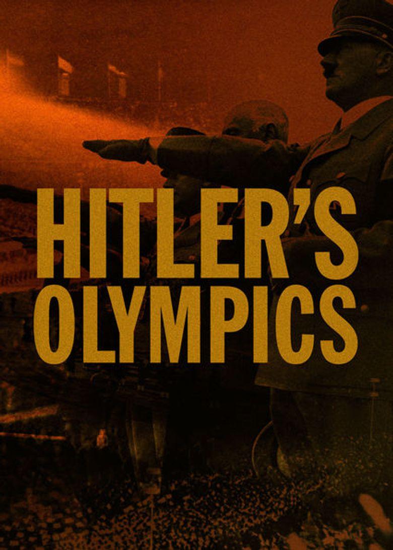 Hitler's Olympics Poster