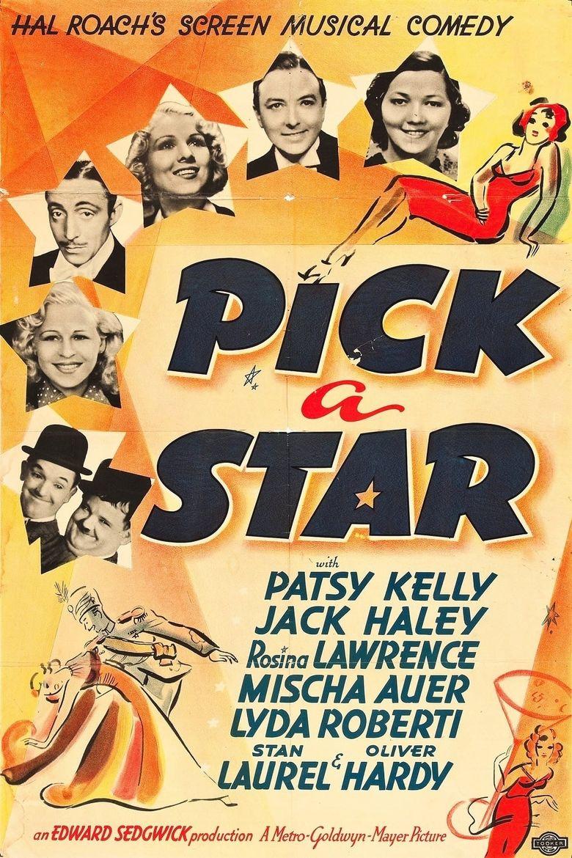 Pick a Star Poster