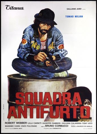Squadra antifurto Poster