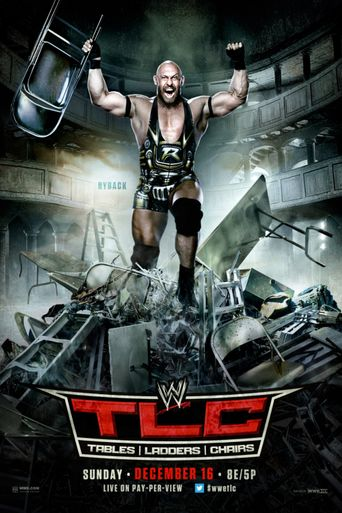 WWE TLC: Tables Ladders & Chairs 2012 Poster