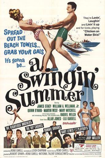 A Swingin' Summer Poster