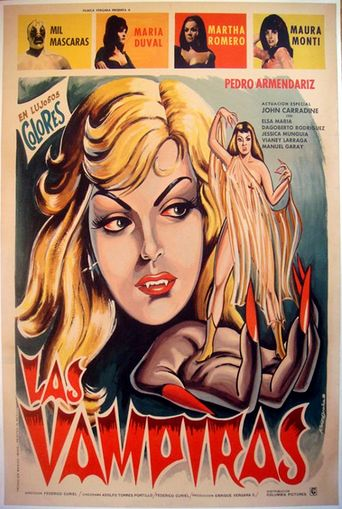 The Vampire Girls Poster