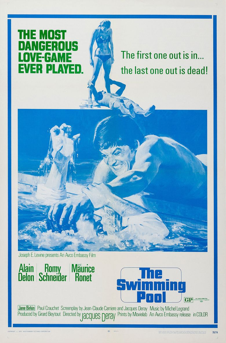 The Swimming Pool Poster