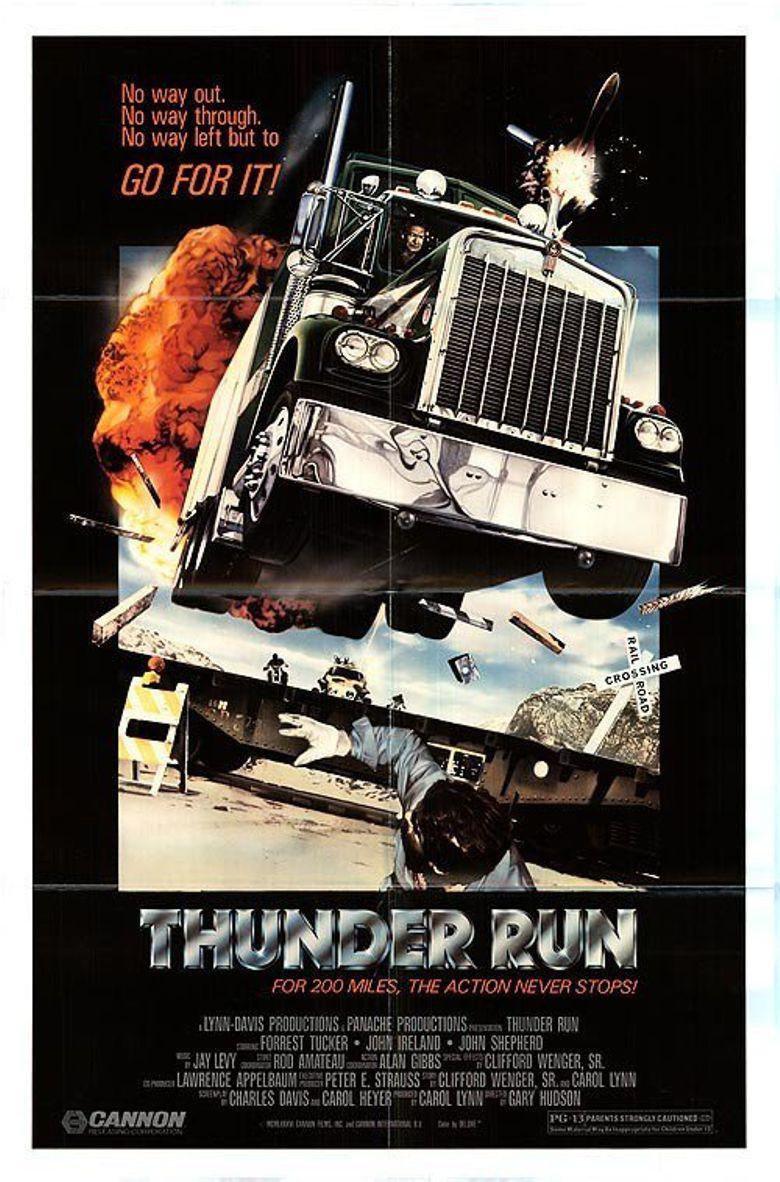 Thunder Run Poster