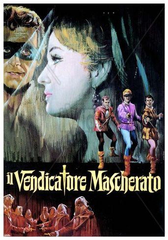 Il vendicatore mascherato Poster