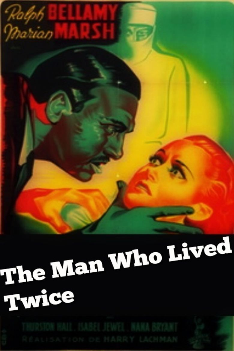 The Man Who Lived Twice Poster