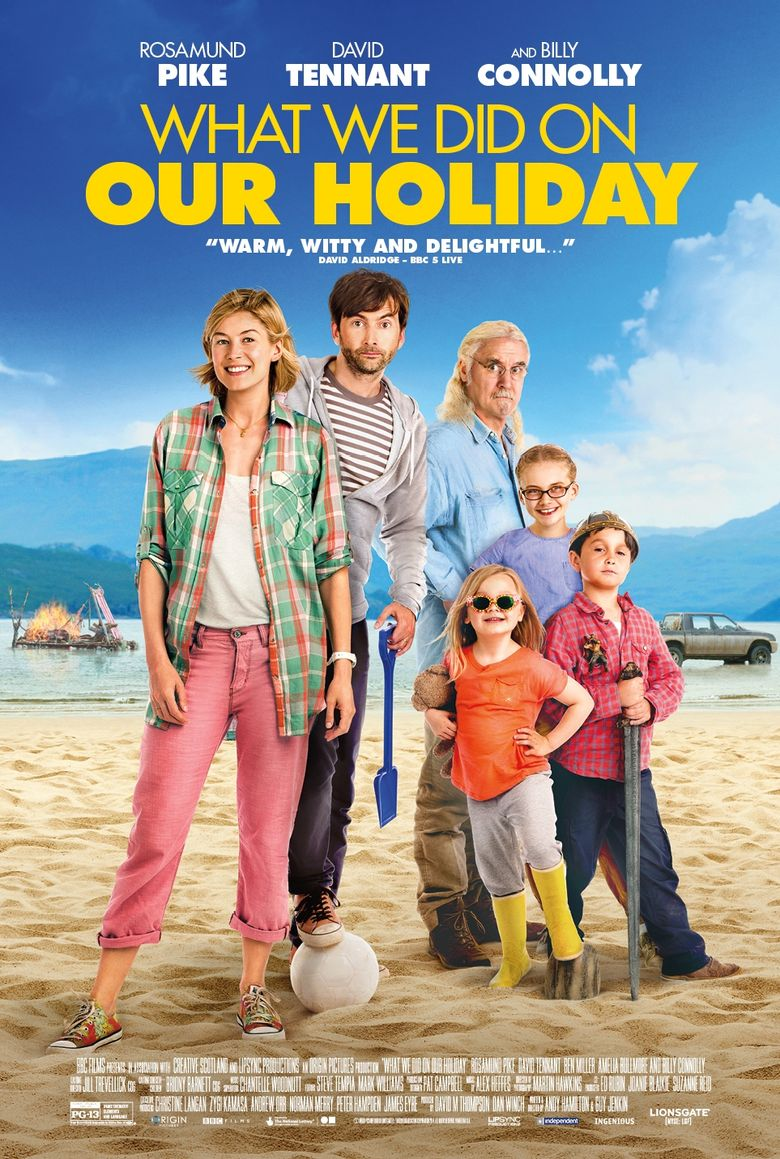 What We Did on Our Holiday Poster