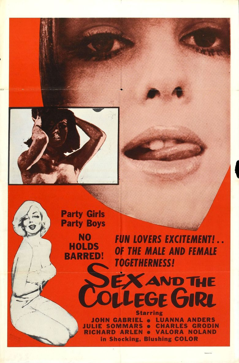 Sex and the College Girl Poster