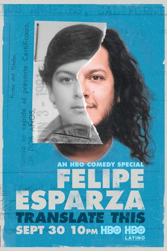 Felipe Esparza: Translate This Poster