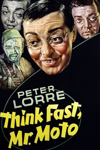 Think Fast, Mr. Moto Poster