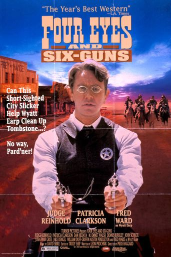 Four Eyes and Six-Guns Poster