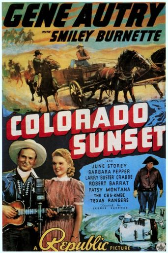 Colorado Sunset Poster