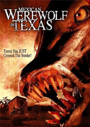 Mexican Werewolf in Texas Poster
