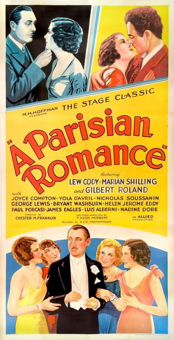 A Parisian Romance Poster