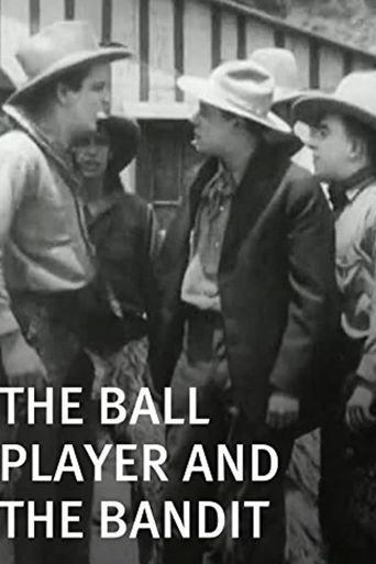 The Ball Player and the Bandit Poster