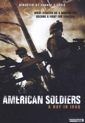 American Soldiers Poster