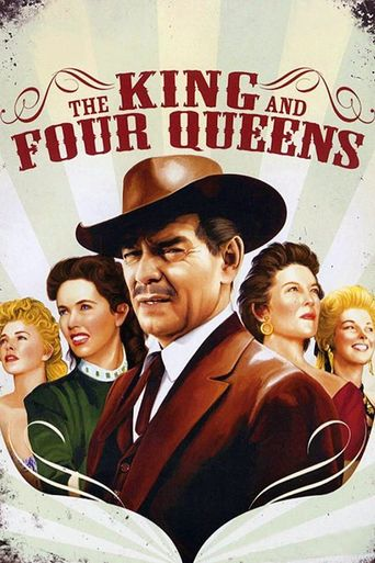 The King and Four Queens Poster