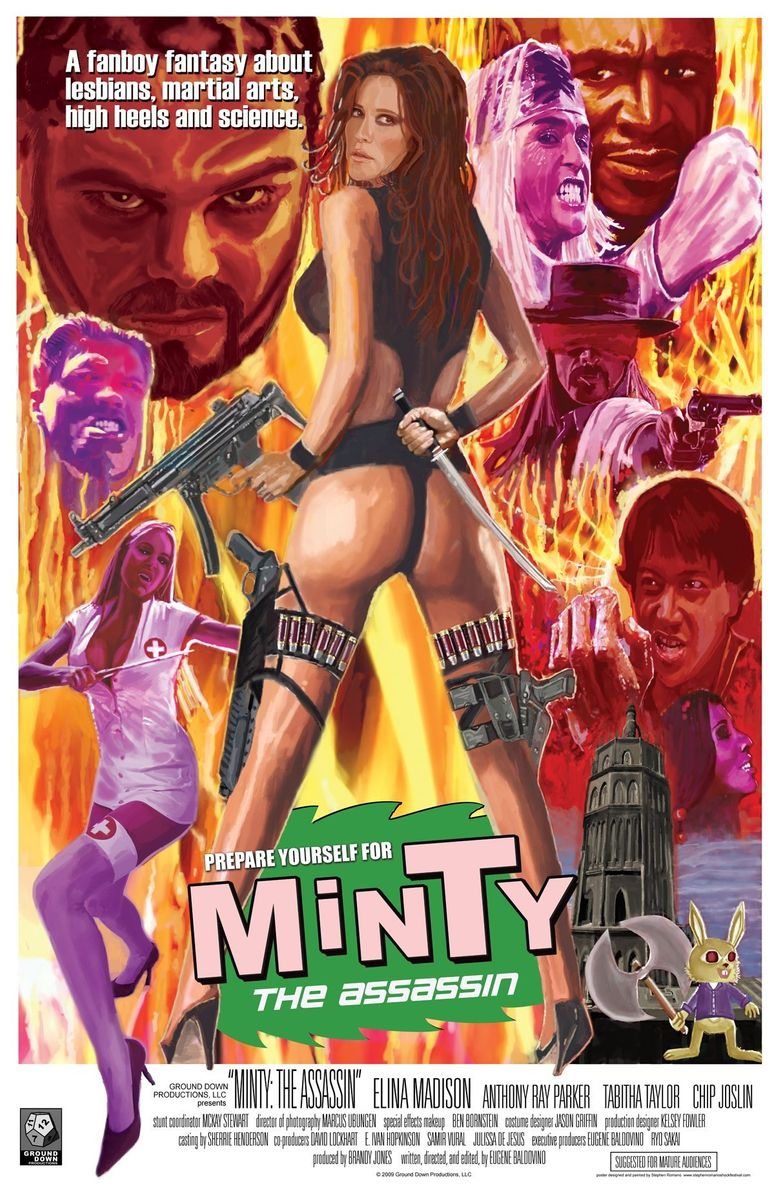 Minty the Assassin Poster