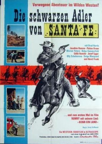 Black Eagle Of Santa Fe Poster