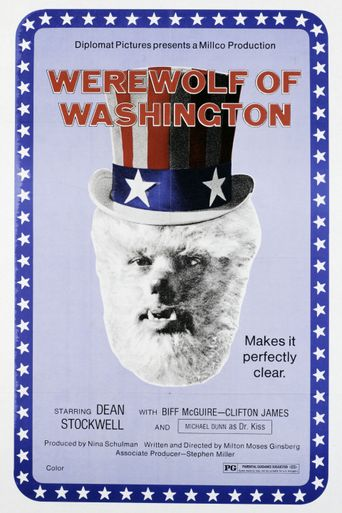 The Werewolf of Washington Poster
