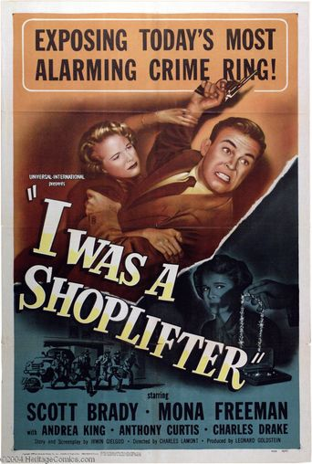 I Was a Shoplifter Poster