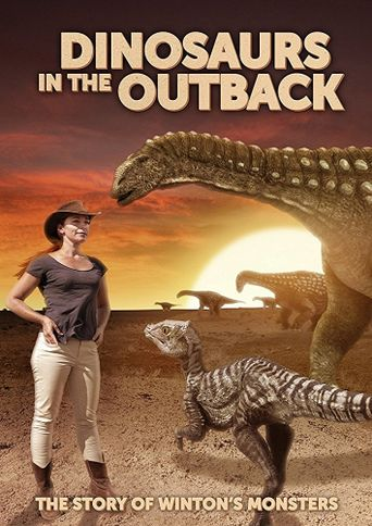 Dinosaurs in the Outback Poster