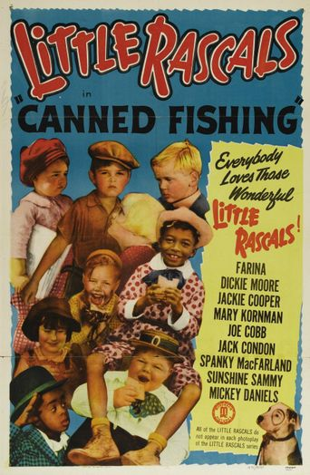 Canned Fishing Poster