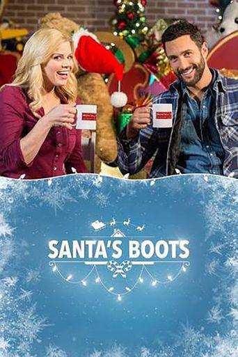 Santa's Boots Poster
