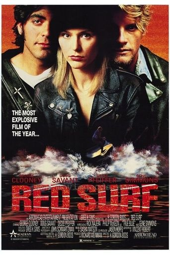 Red Surf Poster