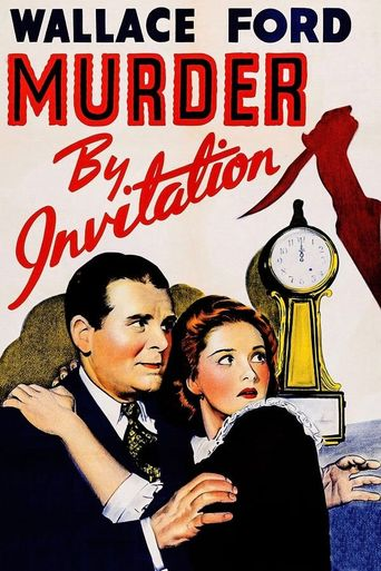 Murder By Invitation Poster