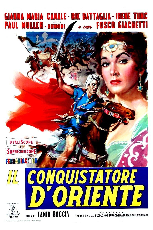 Conqueror of the Orient Poster