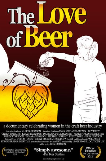 The Love of Beer Poster