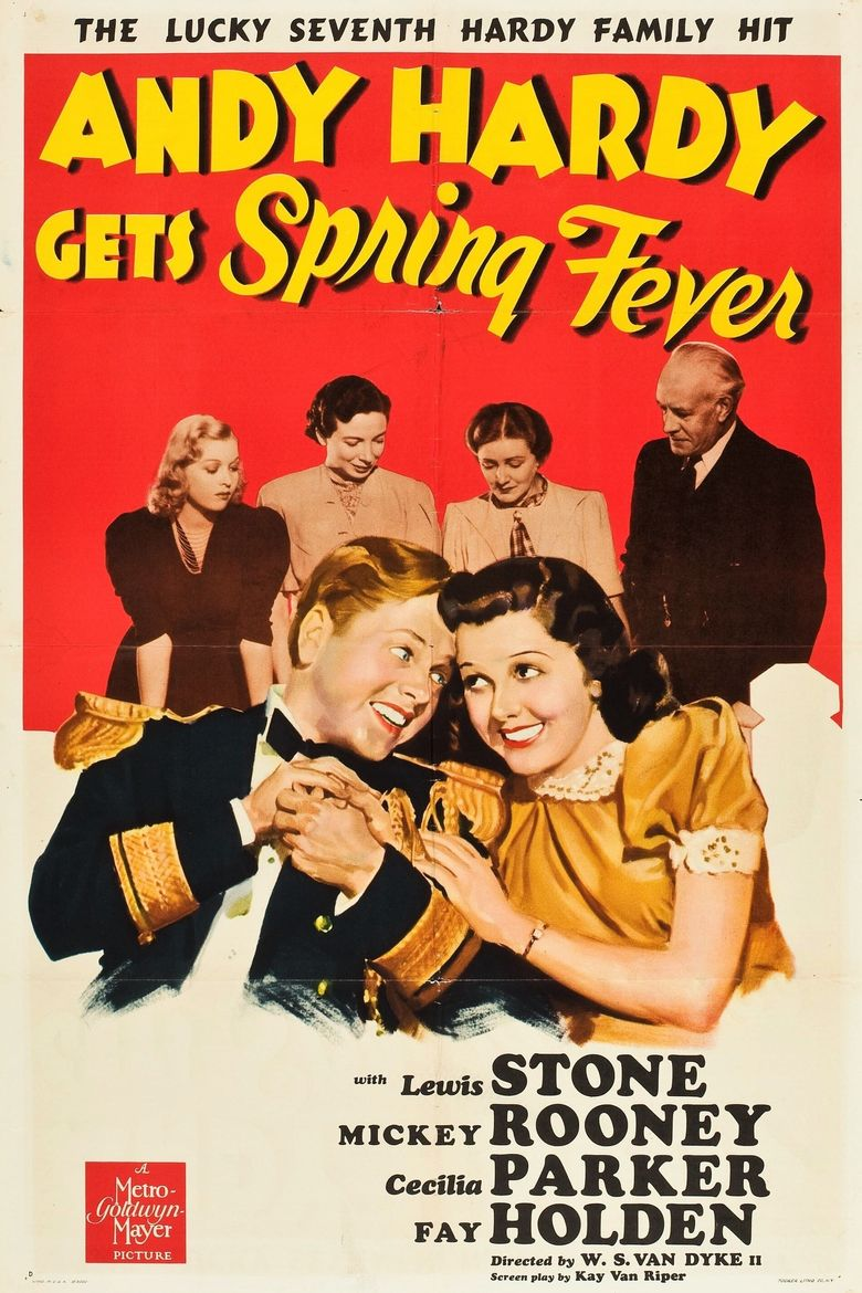 Andy Hardy Gets Spring Fever Poster