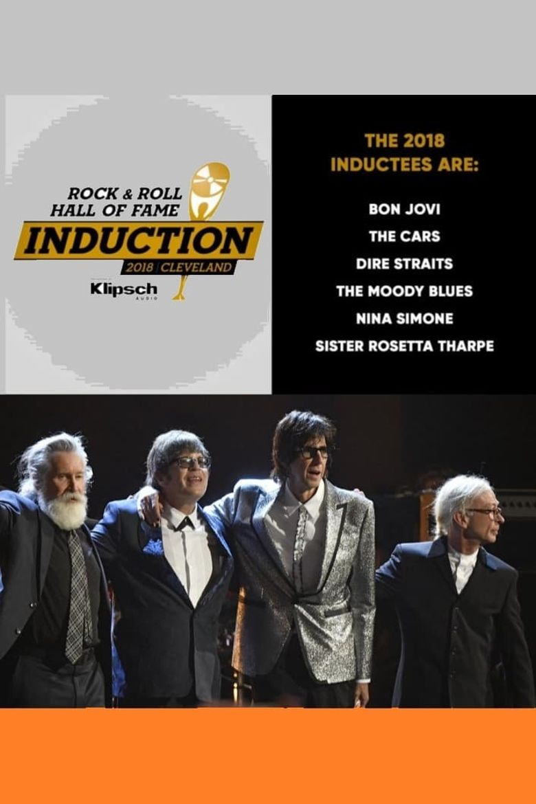 2018 Rock and Roll Hall of Fame Induction Ceremony Poster